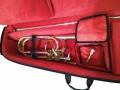 полужёсткий кейс для бас тромбона с отвинчивающимся раструбом